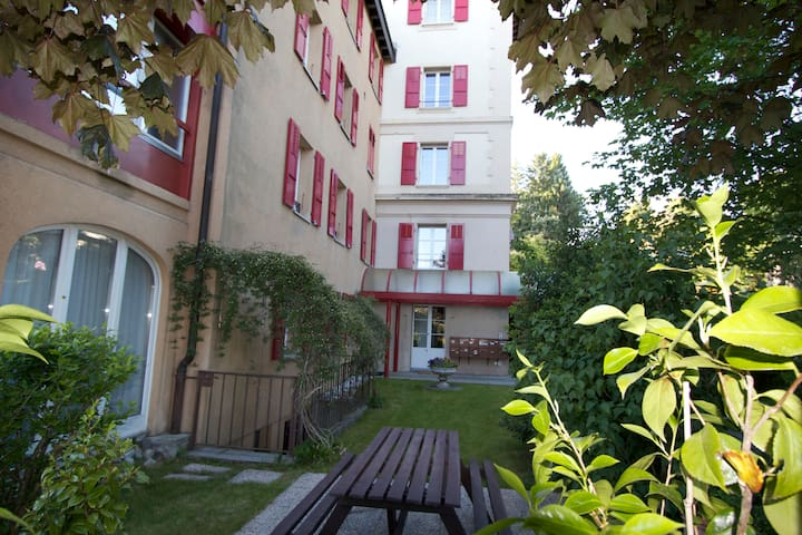 Meublé 42m2 quartier résidentiel - Pully - Appartement