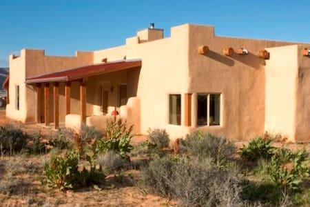 Sunny Strawbale House- Big Water, Utah - Big Water