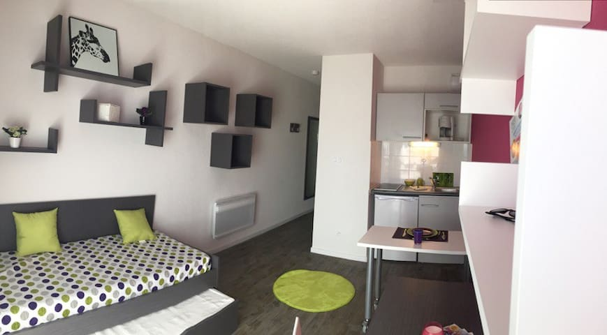 Agréable studio neuf 1 - Aix-en-Provence - Apartment