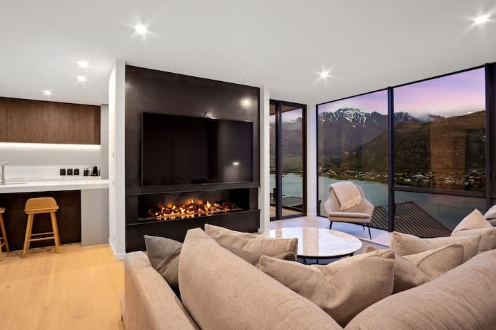 The Woods Penthouse | Fire Place | Outdoor Haven