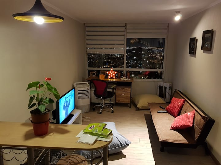 New apartment in cool district