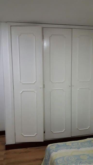 closet del cuarto