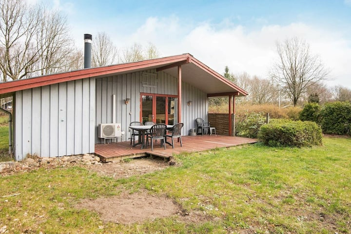 Vintage Holiday Home in Arrild with Roofed terrace