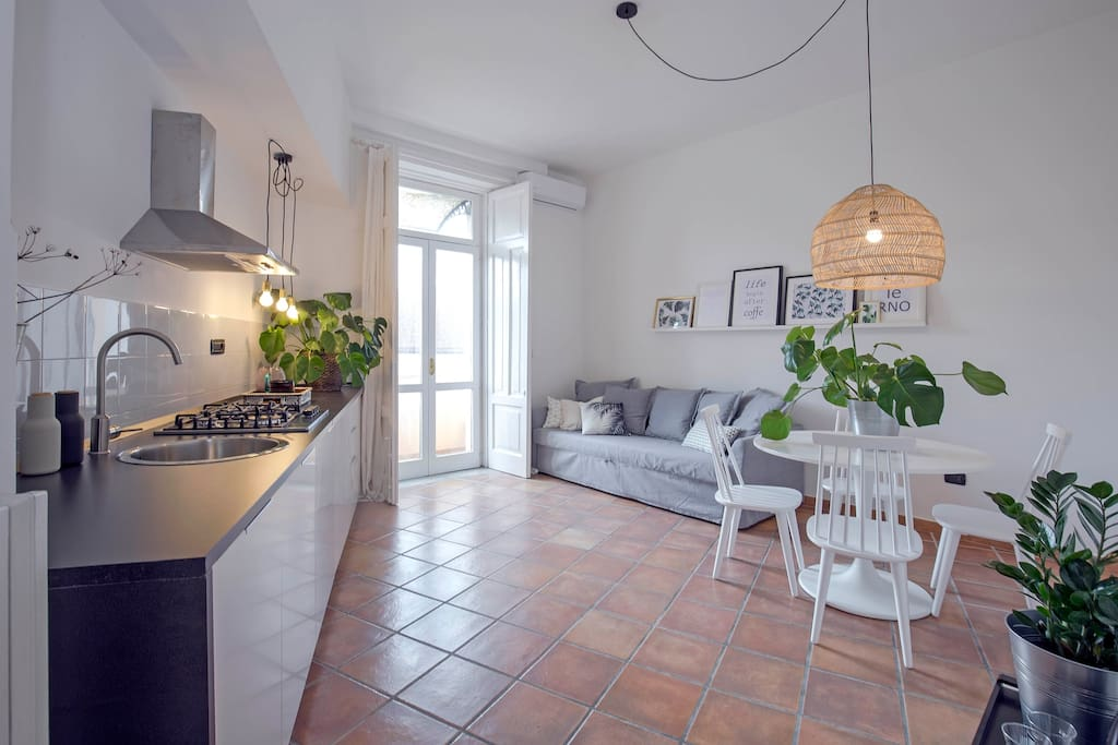 The living with kitchen   *Casa Giada by Starhost*   #Starhost
