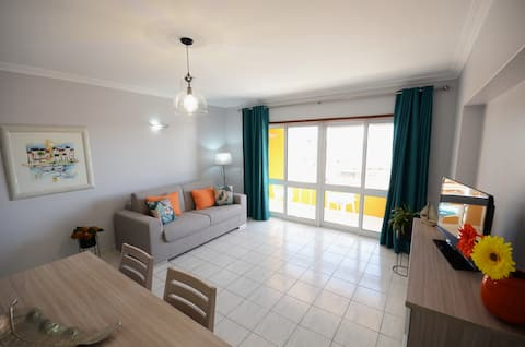 Cosy, sunny flat at beach front!