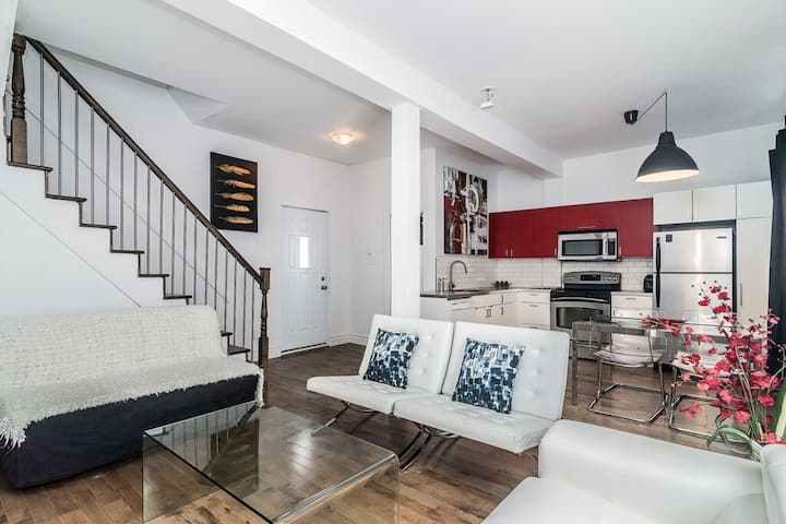 Luxurious Single House-Old Port& DowntownW/Parking