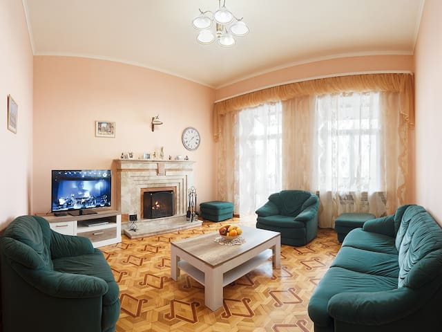 Luxury 5-room apartment in the center of Kharkov. - Kharkiv - Apartamento