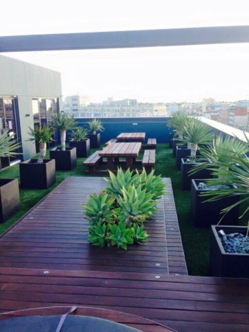 Relaxing Rooftop/ Free WiFi