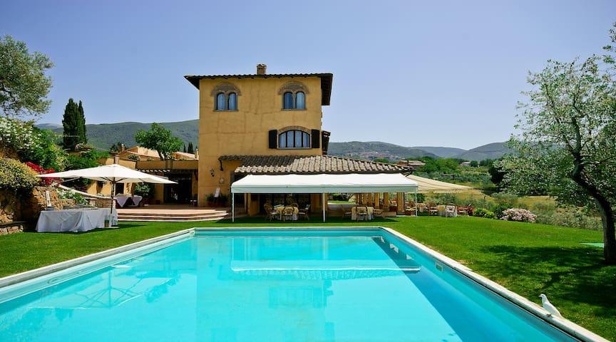 Villa con piscina e beauty privata - Poggio Catino