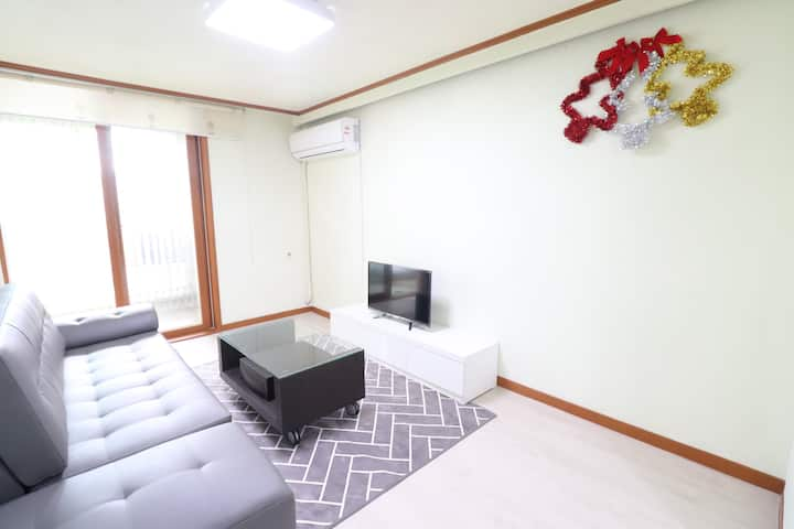 [신규오픈](22평아파트독채 사용) 천안고등학교 인근 펜션급 숙소Free WIFI