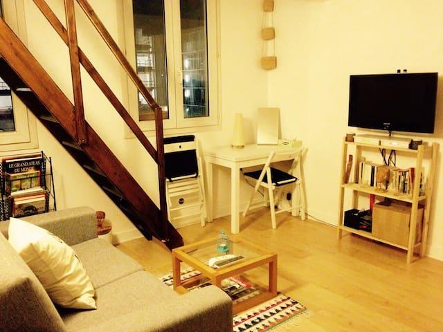 Lovely studio near the center of Paris!