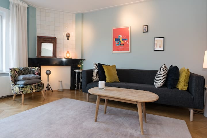 Comfortable and stylish apartment on quiet street
