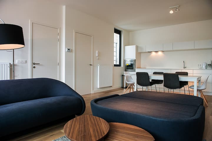 New Triplex House 10 pers in Antwerp Citycenter