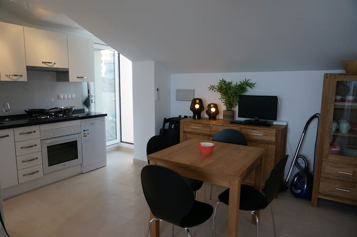 Dining area / kitchen with everything you need