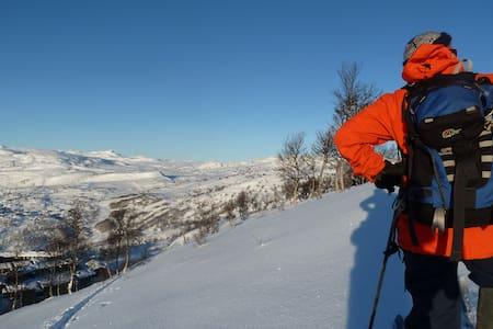 Spectacular views, ski in - ski out - Vågslid - Stuga