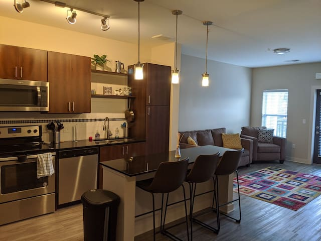 Beautiful 1 bed new condo in Midtown GR