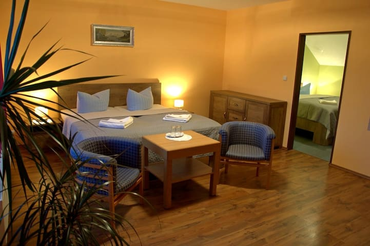 Komfortní ubytování v oblasti Montanregionu UNESCO