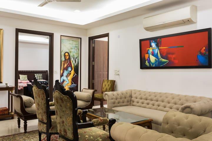 Affordable Luxury South Delhi Flat