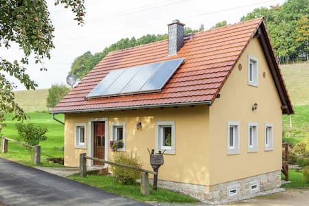 Comfortable holiday home near Dresden with wood stove and private garden