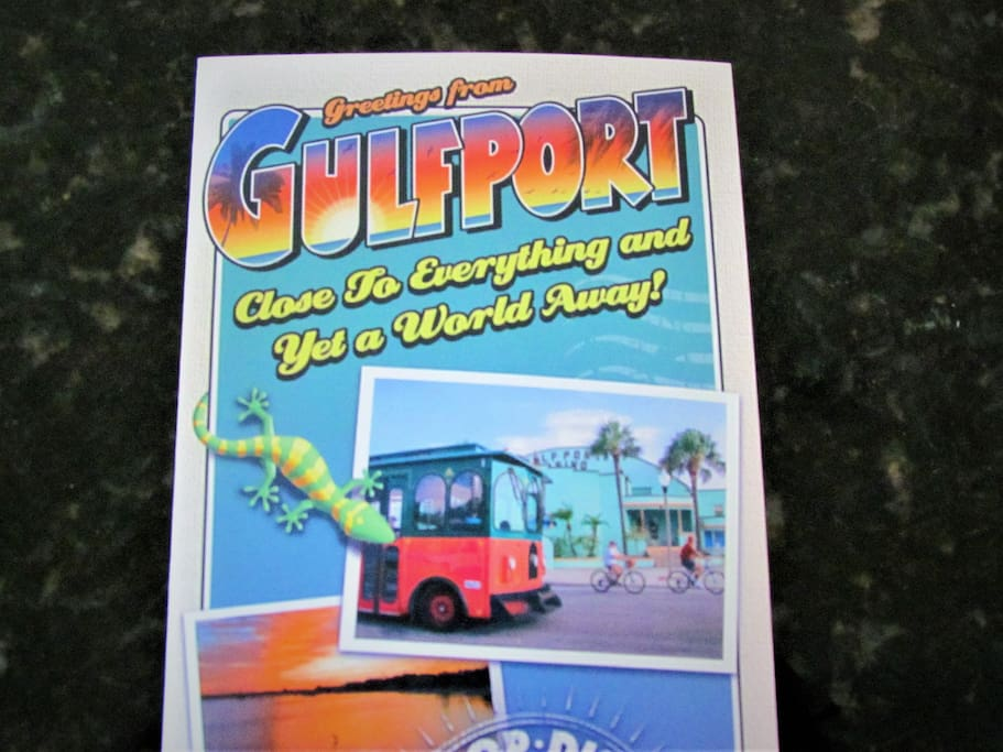 Gulfport close to everything and Yet a World Away