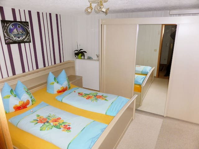 """Schneider"", 2-room granny flat 40 m² for 2 persons - Geschwenda - Appartement"