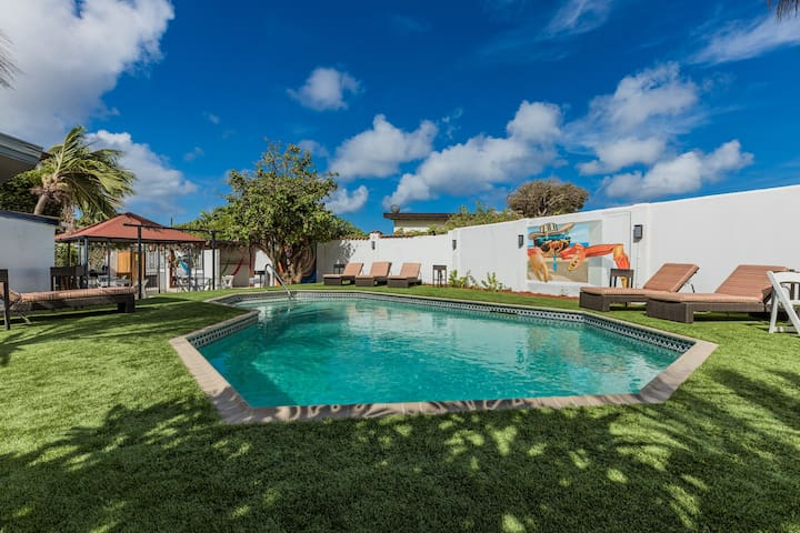 Mónaco Vacation House Aruba 1 Bedroom/1 Bath