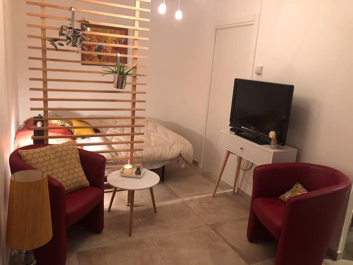 Petit studio cosy à 10 min d'Annecy