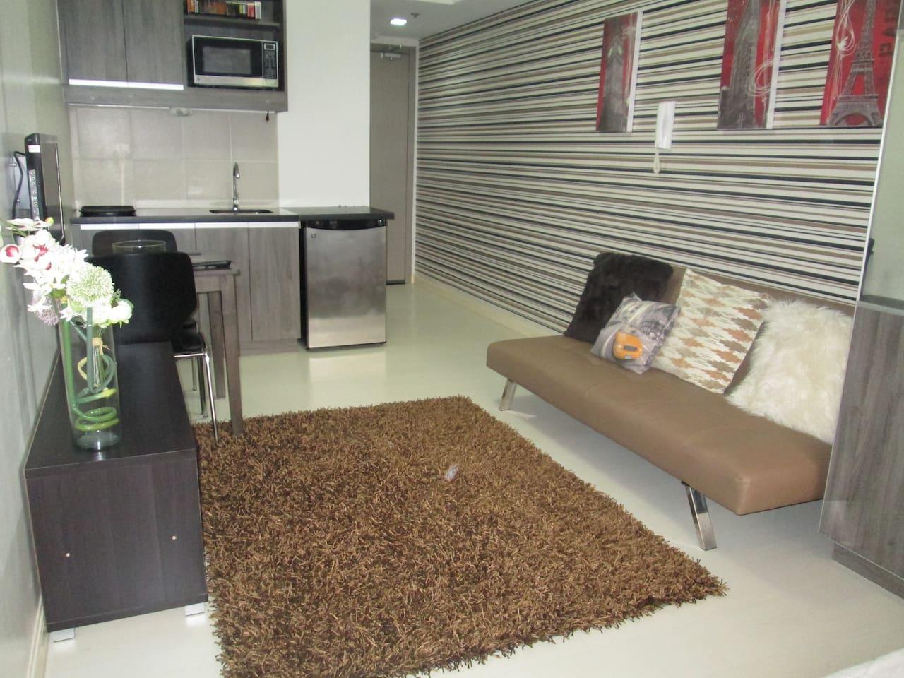 Fully furnished 1 Bedroom Condo - Wohnungen zur Miete in Manila ...
