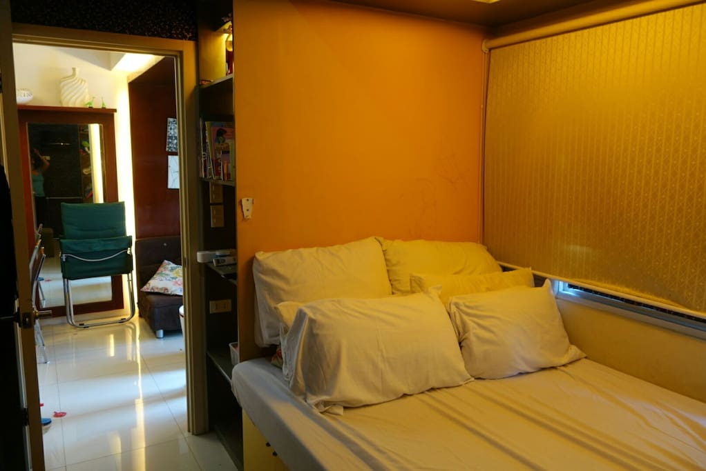 Masters bedroom it can feet 2 persons