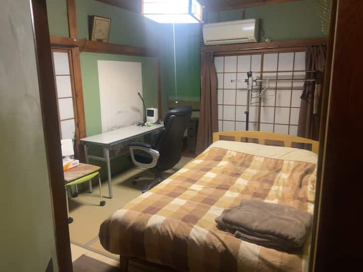 """江戸川区篠崎町  Private """"Room2"""" 個室, 和室,書斎部屋"""