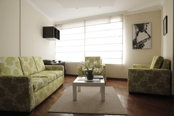 Hermoso y cálido departamento