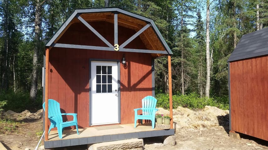 Cozy Cabin in the woods w/ bathhouse - Talkeetna - House