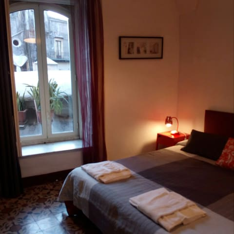 Double room in Catania Central