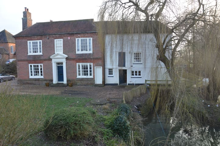 Listed Watermill, beautiful village, North Downs