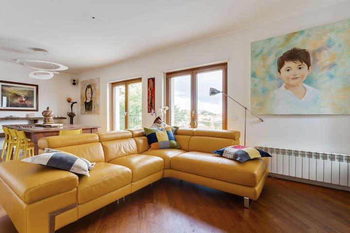 Elegante apartamento en Campobasso cerca del bosque