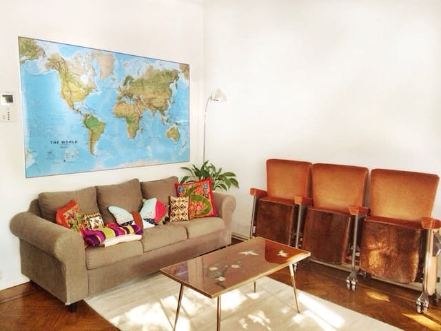 Light & spacious flat with terrace - Antwerp - Apartamento