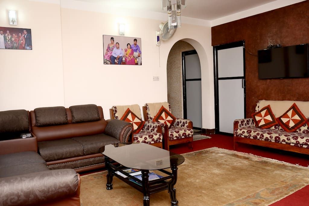 Common living space view 1