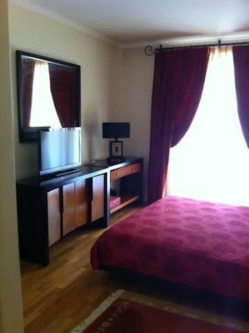 Quarto em suite com varanda/piscina - Belas - Apartamento