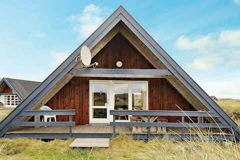 Tranquil Holiday Home in Ringkøbing With Naturalistic Views