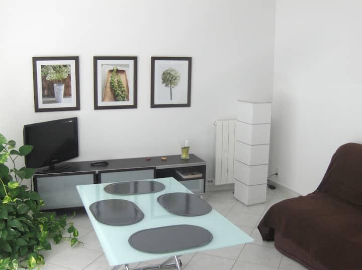 Appartement PUJAUT village à 8km Avignon
