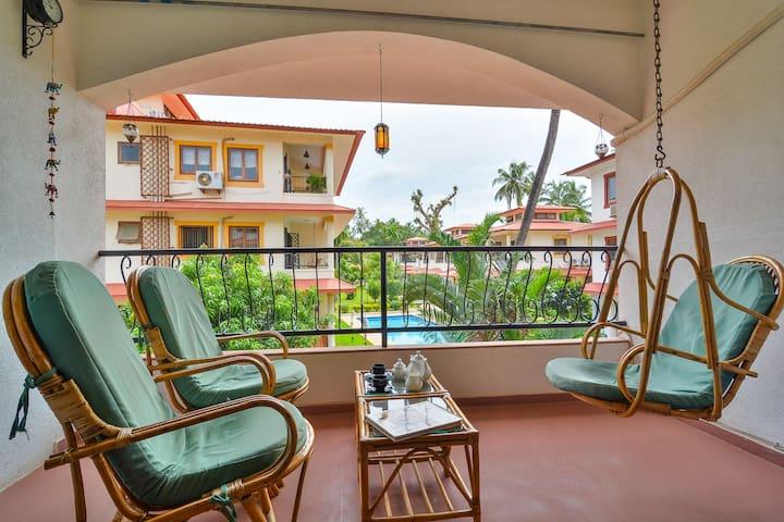 Elegant Apartment, Arpora-Baga - Arpora - Appartement