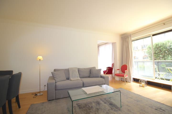 2 room apt for 4, chic Paris center - Paris - Daire