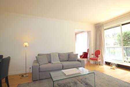 2 room apt for 4, chic Paris center - Paris - Leilighet