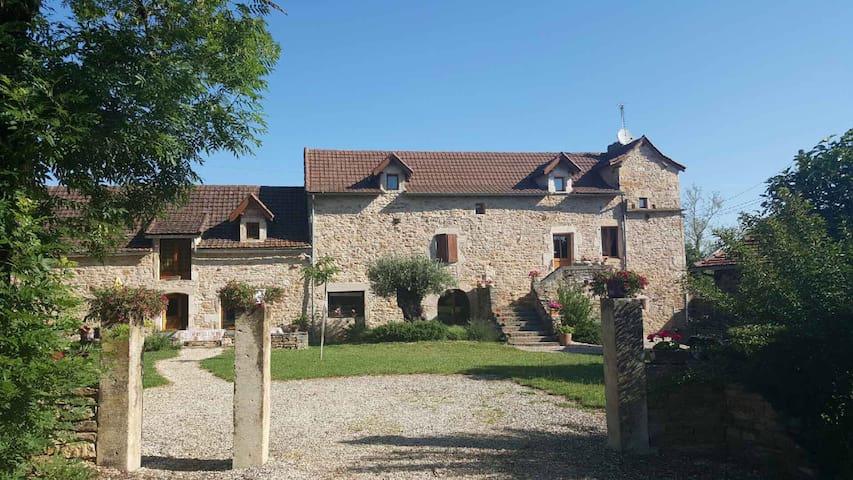 Chambre indépendante de caractère - Savignac - Casa