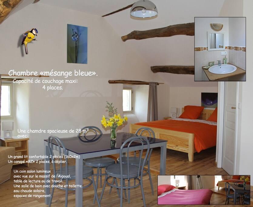 Les3mesanges chambres d 39 h tes louer florac - Chambres d hotes languedoc roussillon ...