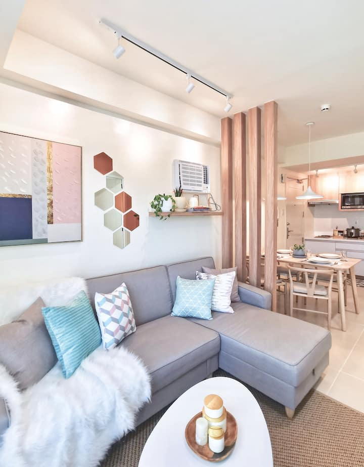 NEW Japanese Scandinavian Inspired 2BR Condo in QC