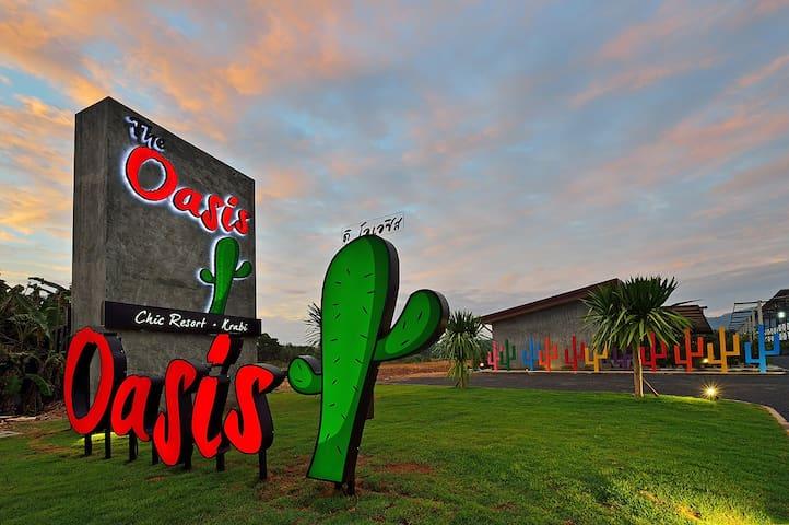 The Oasis Resort, Chic resort.