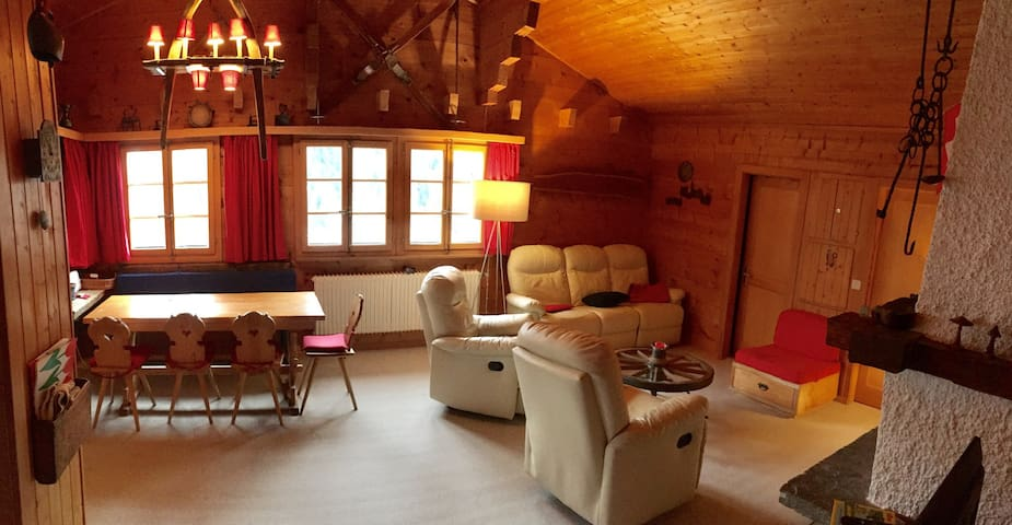 Chalet traditionnel  (S3) - Zinal - Apartmen