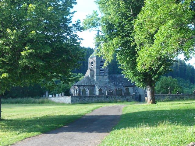 maison ancienne rénovée - Rochefort-Montagne - Dom