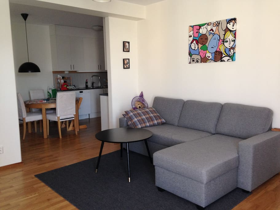 Front room and sofa